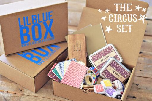 Lil Blue Box: The Circus Set via lilblueboo.com