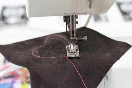 how to sew leather or suede via lilblueboo.com