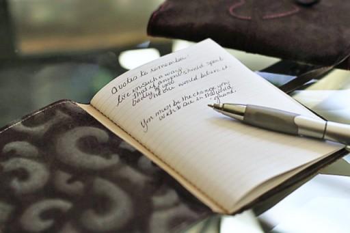 diy leather journal via lilblueboo.com #journal #travel #diy