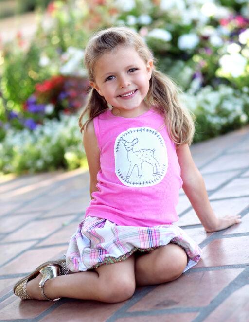 Doe a Deer Tank and Bubble Skirt: Spring 2013 Dreamer Collection I via lilblueboo.com