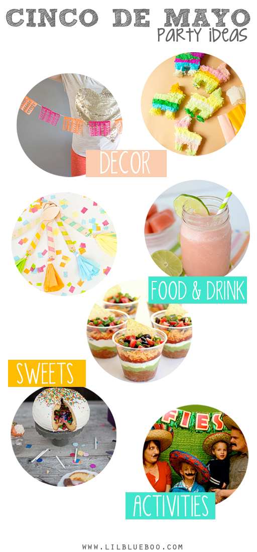 Cinco de Mayo Party Ideas via lilblueboo.com