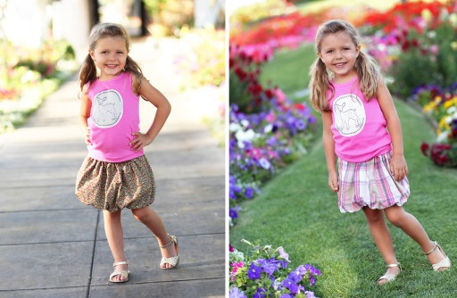 Reversible Bubble Skirt: Spring 2013 Dreamer Collection I via lilblueboo.com