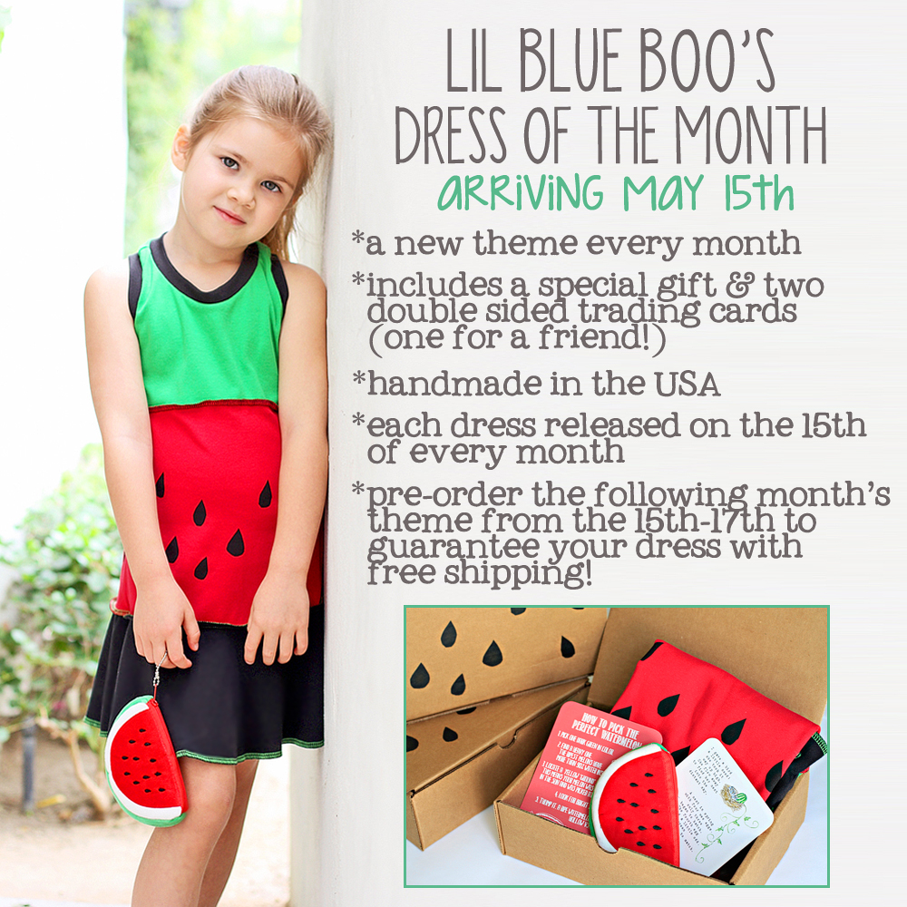 Lil Blue Boo's May 2013 Dress of the Month via lilblueboo.com