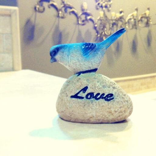 little blue bird via lilblueboo.com