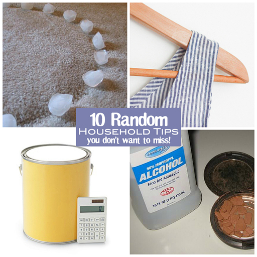 10 Random Household Tips You Don't Want to Miss via lilblueboo.com