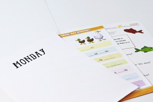 Summer worksheets via lilblueboo.com