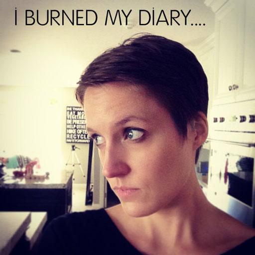 I burned my diary via lilblueboo.com