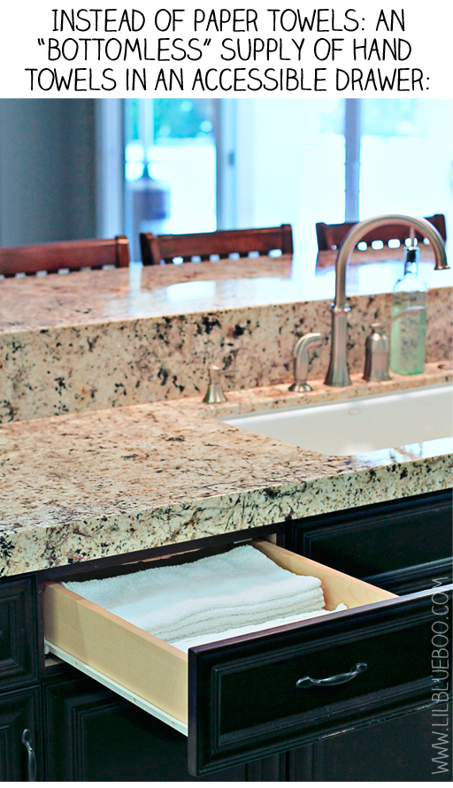 reusable paper towels diy via lilblueboo.com
