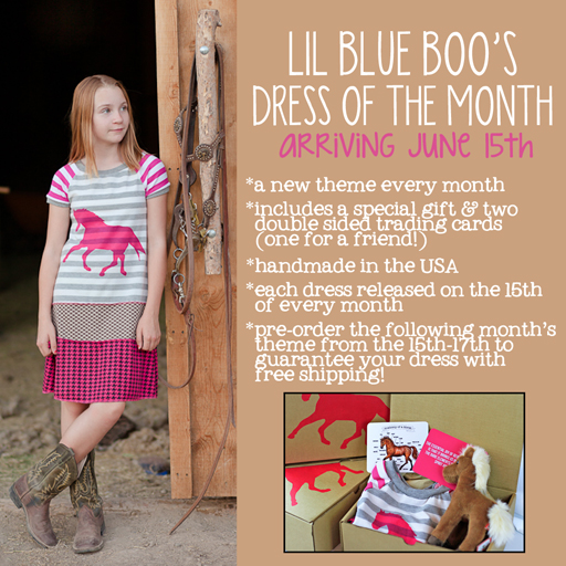 The Lil Blue Boo June Dress of the Month via lilblueboo.com