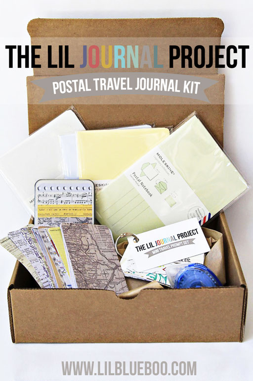 Take these journals with you this summer and fill them with notes and mementos....then mail them back from your destination so you have a postmark from your trip! A great family project to record your memories. Travel Journal Set with Postal Moleskine Notebooks via lilblueboo.com #theliljournalproject