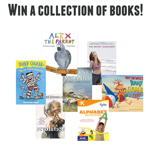 Win a collection of books from Sylan and Random House via lilblueboo.com