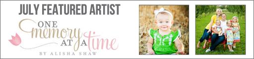July Dress of the Month Featured Artist: Alisha Shaw via lilblueboo.com