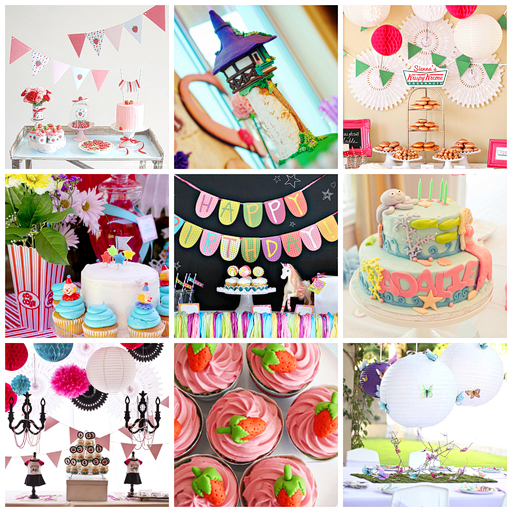 More Birthday Party Ideas for Girls via lilblueboo.com