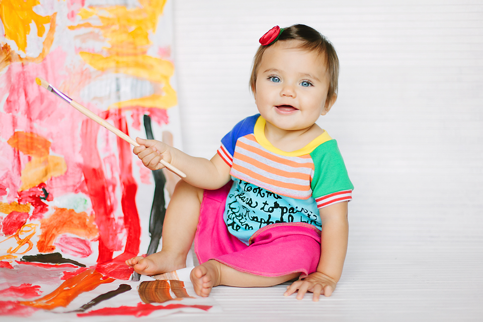The Lil Blue Boo August Dress of the Month from 6M to 12 Years via lilblueboo.com Photography by Christina Anglum