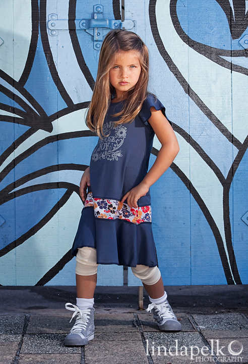 Lil Blue Boo September 2013 Dress of the Month is made for layering via lilblueboo.com