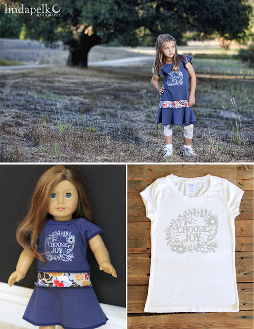 Shop new Choose Joy items at Lil Blue Boo via lilblueboo.com #choosejoy