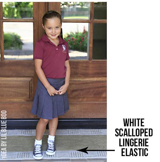 How to make stretch shoe laces DIY via lilblueboo.com #diy #tutorial #kids