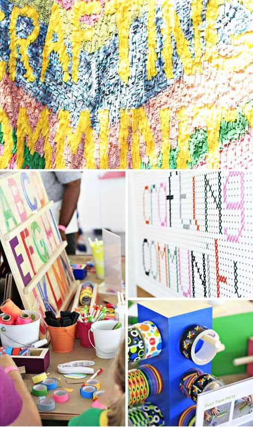 Crafting Community Kimmel Splendid Kids via lilblueboo.com #craftingcommunity #ccommunity #acehotel