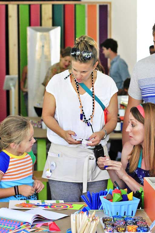 Karen Kimmel Crafting Community via lilblueboo.com #craftingcommunity #ccommunity #karenkimmel #acehotel