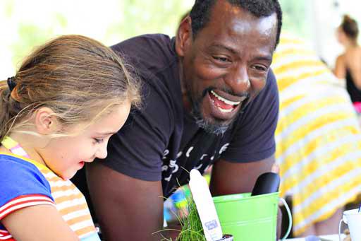 Ron Finley at Crafting Community Urban Gardening via lilblueboo.com #acehotel #craftingcommunity #palmsprings #ronfinley #urbangardening
