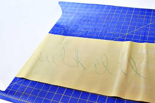 How to cut a design into skateboard or long board grip tape  via lilblueboo.com #skateboard #diy #gift #handmade