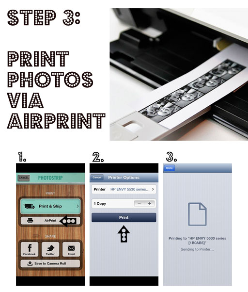 Printing Pocketbooth and Photo Booth Photos via airprint via lilblueboo.com