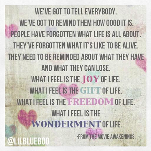 We've got to tell everybody via lilblueboo.com #quote