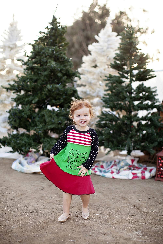 Lil Blue Boo's 2013 Christmas Dress via lilblueboo.com