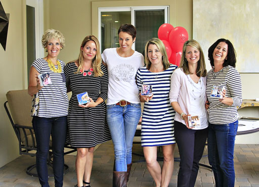 How to throw a Pinterest Craft Party via lilblueboo.com
