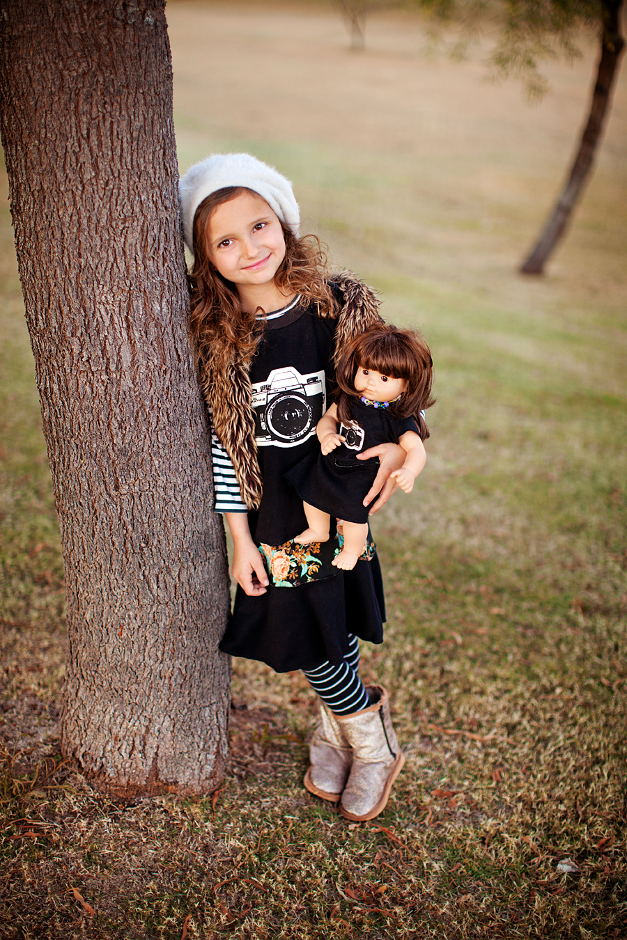 Camera dress for your little photographer. Photography by Laura Winslow Photography via lilblueboo.com