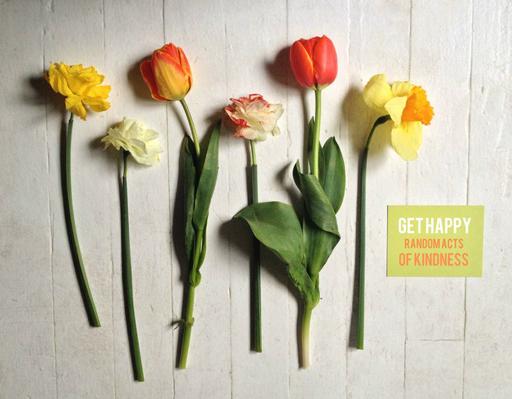 Random Acts of Kindness Week: put flowers on car windshields via Ashley Hackshaw / lilblueboo.com