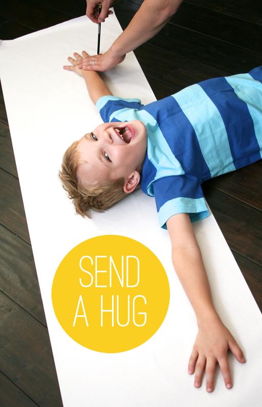 Random Acts of Kindness Week: Send a Hug via Ashley Hackshaw / lilblueboo.com
