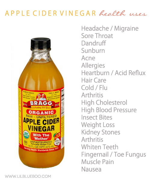 20+ Health Uses for Apple Cider Vinegar via Ashley Hackshaw / lilblueboo.com #health