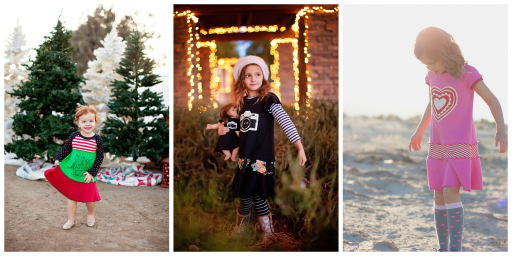 Lil Blue Boo Dress of the Month - November, December and January via Ashley Hackshaw / lilblueboo.com