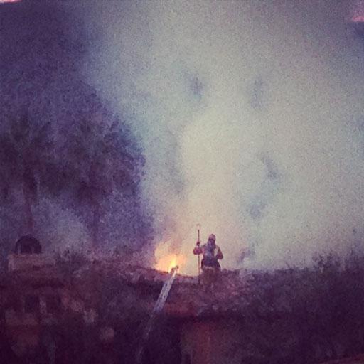 Fire in Palm Desert Calfire