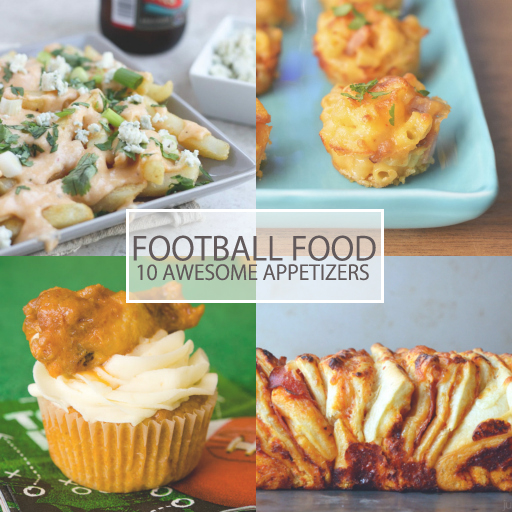 Super Bowl Sunday Appetizer Ideas via Ashley Hackshaw / lilblueboo.com #superbowl #football #appetizers