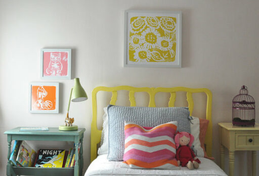 Sild Screened Art Prints for Big Girl Room | Ashley Hackshaw / lilblueboo.com