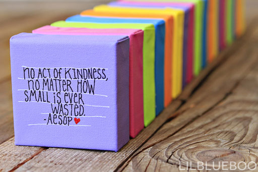 No act of kindness, no matter how small, is ever wasted. ― Aesop #quote