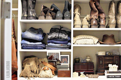 My DIY closet - Master closet off the bathroom - built these using Easy Closets  #organization #closet #diy #easyclosets