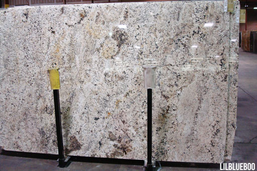 This is the granite used in our kitchen - Delicatus (black, white and gray)