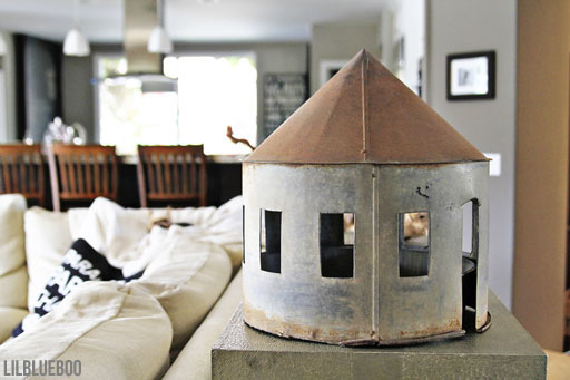 Rustic Home Decor - A chicken feeder
