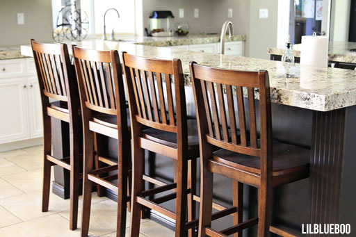 Kitchen Makeover - Bar stools