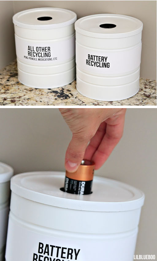 How to recycle batteries - Battery recycling station