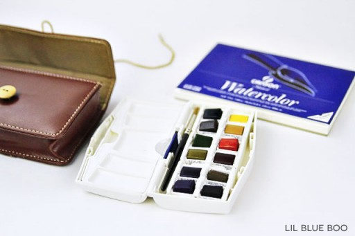 Pocket Box Travel Watercolors - For painting on the go!