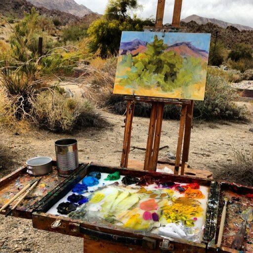 Plein Air Painting Palm Desert