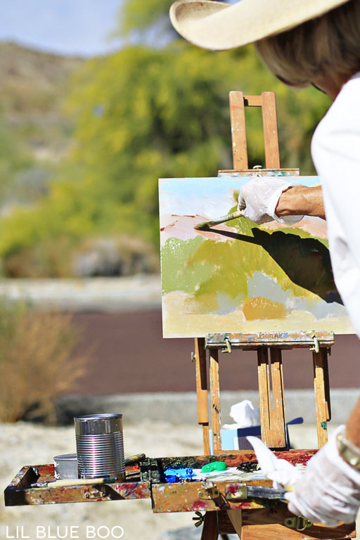 Plein Air Painting at the Santa Rosa Visitors Center