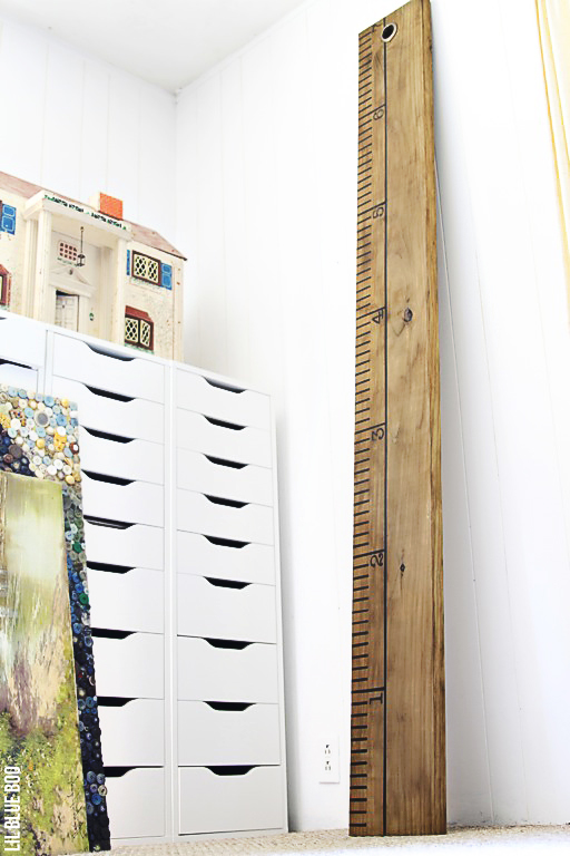 Large Wood Ruler Growth Chart Tutorial