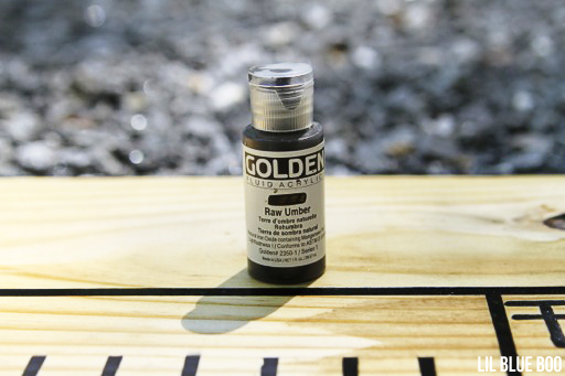 Golden Liquid Acrylics Project Ideas - How to make your own wood stain