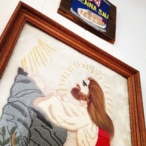 Jesus Art and Vienna Sausage by The Crafty Cowboy