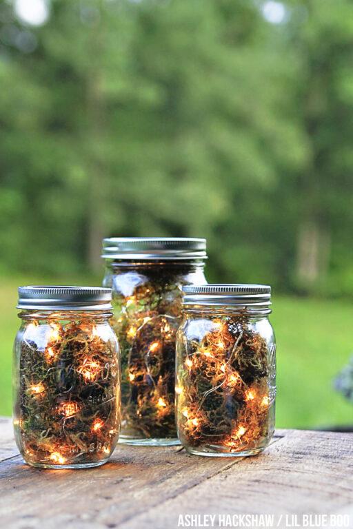 diy firefly mason jar lanterns